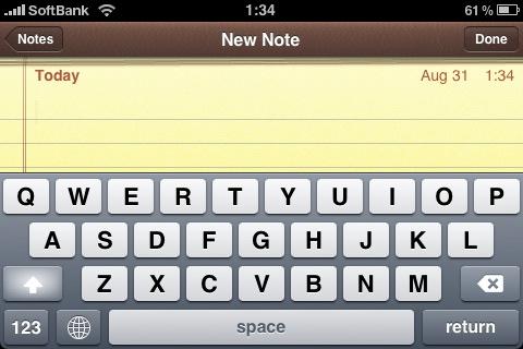 iPhoneとの比較